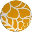 rug #223257   round light-orange graphic rug