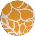rug #223269 | round light-orange natural rug