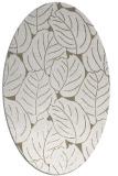 rug #225737   oval beige natural rug