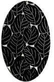rug #225741 | oval white natural rug