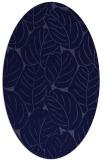 rug #225821   oval blue-violet rug