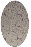 rug #225917 | oval purple natural rug