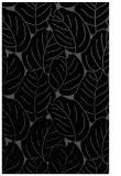 rug #226097 |  black natural rug