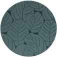 rug #226513   round blue-green natural rug