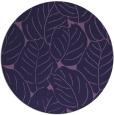 rug #226537   round blue-violet rug