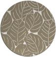 rug #226581 | round mid-brown natural rug