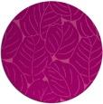 rug #226649 | round pink rug