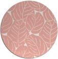 rug #226661 | round pink rug