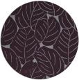 rug #226677 | round purple natural rug