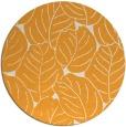 rug #226789 | round light-orange rug