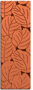 collected leaves rug - product 226993