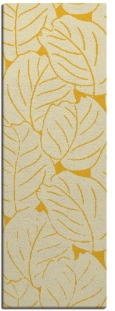 collected leaves rug - product 227081
