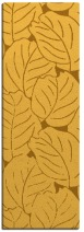 collected leaves rug - product 227097