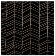 rug #228917 | square black stripes rug