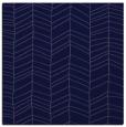 rug #228989   square blue-violet natural rug