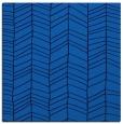 rug #229073 | square blue natural rug