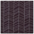 rug #229141 | square purple natural rug