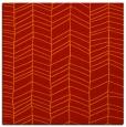 rug #229149 | square orange natural rug