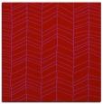 rug #229157 | square red natural rug