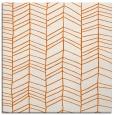 rug #229173 | square red-orange stripes rug