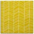 rug #229205   square yellow stripes rug