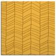 rug #229209   square yellow stripes rug