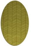 rug #229319   oval stripes rug