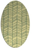 rug #229461 | oval stripes rug