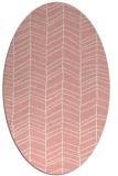 rug #229477 | oval white rug