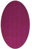 rug #229512   oval stripes rug