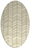 rug #229568 | oval stripes rug