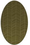 rug #229589 | oval light-green rug