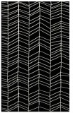 rug #229613 |  black stripes rug