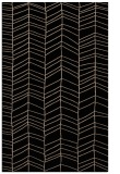 rug #229621 |  black stripes rug