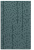 rug #229681 |  blue-green natural rug