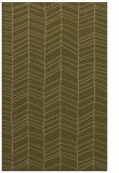 rug #229729 |  mid-brown stripes rug
