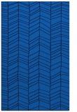 rug #229777 |  blue stripes rug