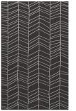 rug #229809    orange stripes rug