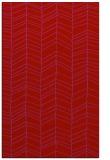 rug #229861    red stripes rug
