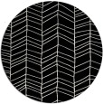 rug #229965 | round black natural rug