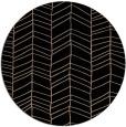 rug #229973 | round black popular rug