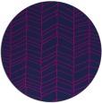 rug #229989 | round blue rug