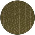 rug #230081 | round mid-brown stripes rug