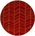 rug #230152 | round stripes rug