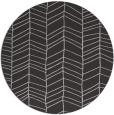 rug #230161 | round red-orange natural rug