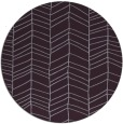 rug #230197 | round purple stripes rug