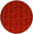 rug #230205 | round orange popular rug