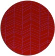 rug #230213   round red stripes rug