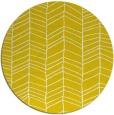 rug #230261 | round yellow natural rug