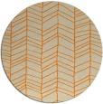 rug #230277 | round beige stripes rug